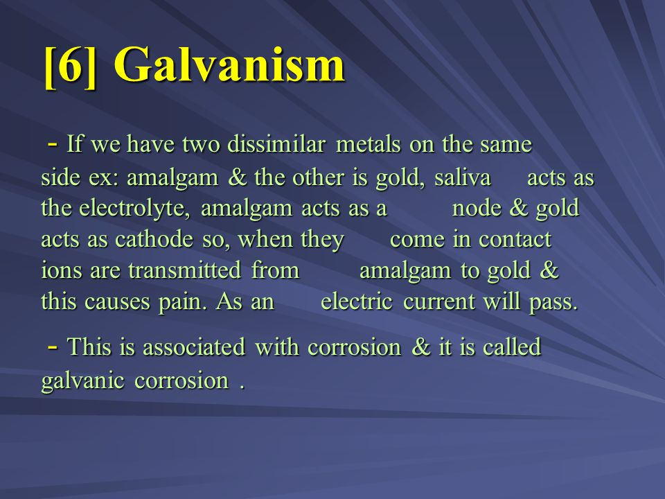 [6] Galvanism